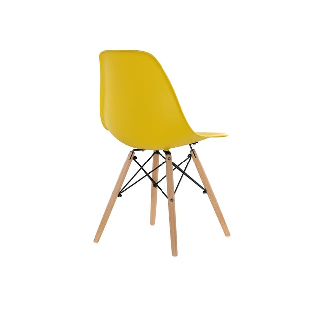 DSW Chair Replica - Natural, Yellow - 4