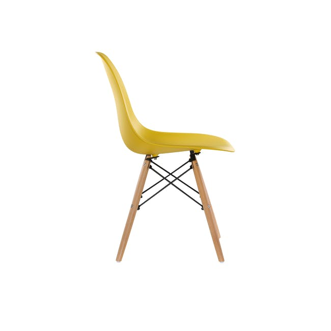 DSW Chair Replica - Natural, Yellow - 3