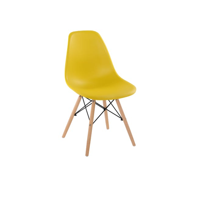 DSW Chair Replica - Natural, Yellow - 0