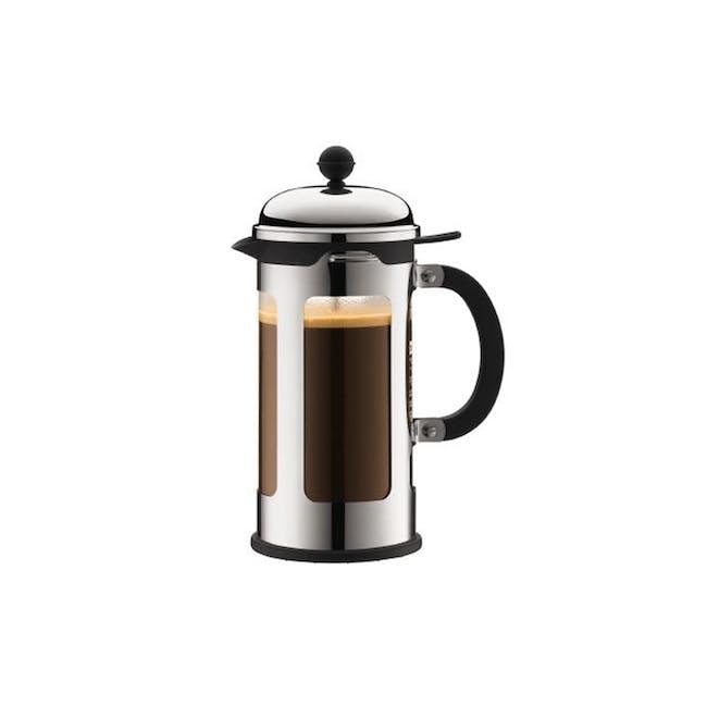 CHAMBORD 8 cup Coffeemaker 1L  - Chrome - 0
