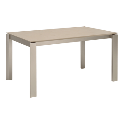 Elwood 6 Seater Dining Table - Taupe Grey