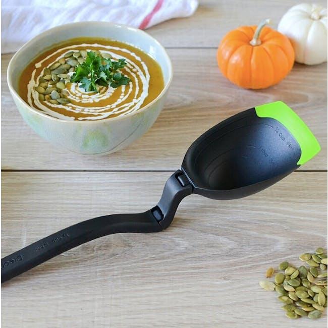 Dreamfarm Spadle Spoon that turns into Ladle - Red - 2