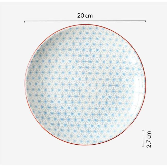 Table Matters Starry Blue Plate (3 Sizes) - 3