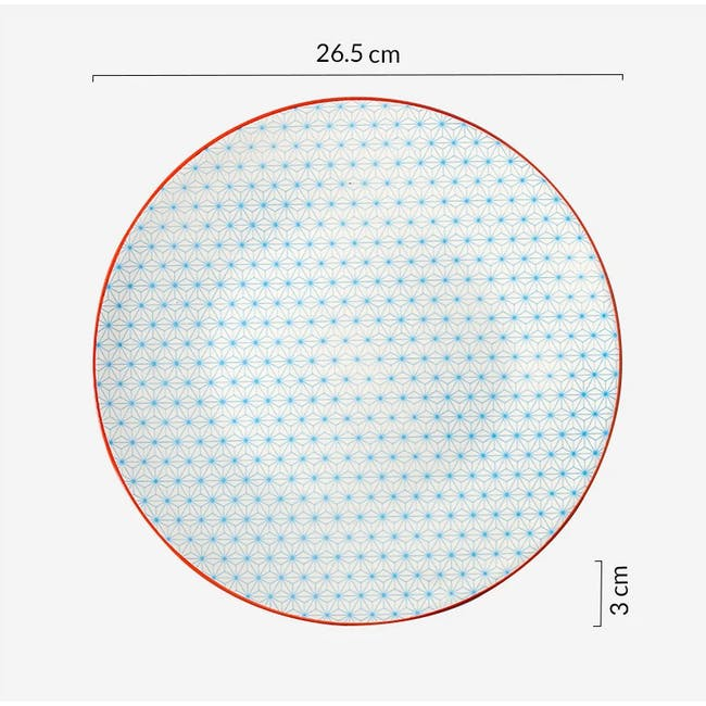Table Matters Starry Blue Plate (3 Sizes) - 4