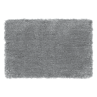 Mia Floor Mat 40cm by 60cm - Grey - Image 1