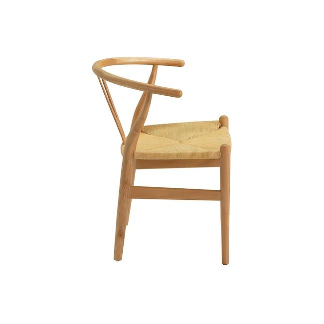 Wishbone Chair Replica - Beech, Natural Cord - 7