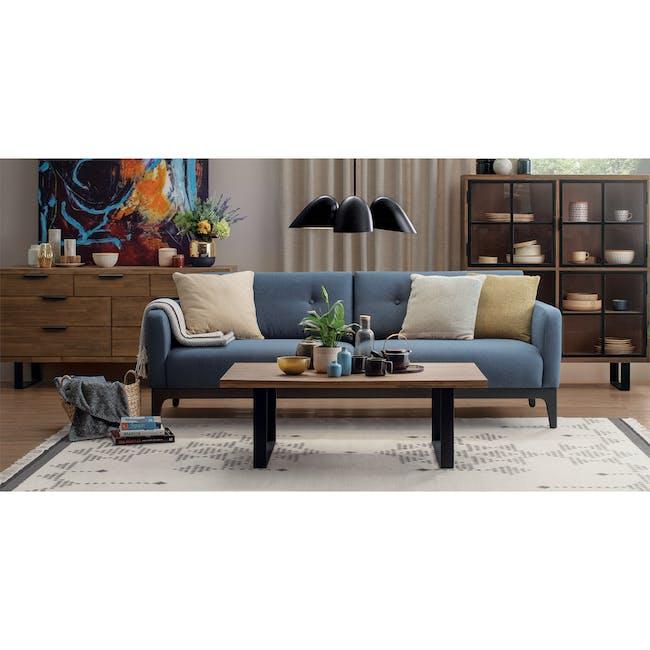 Weston 3 Seater Sofa - Peacock - 2