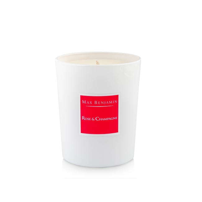 Rose and Champagne Candle - 0