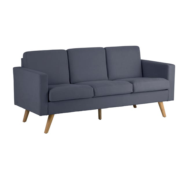 Helen 3 Seater Sofa with Helen 2 Seater Sofa - Hailstorm - 2