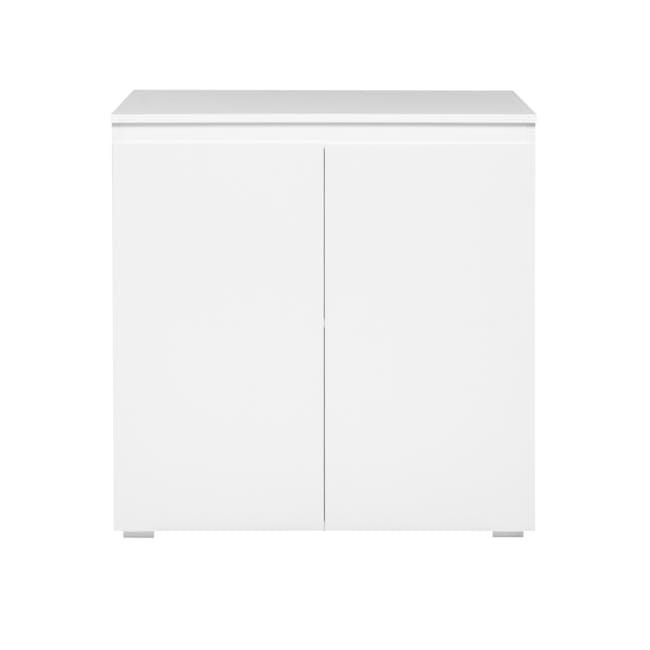 Erika 2-Door Cabinet - White - 0