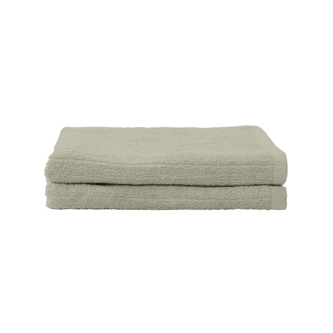 EVERYDAY Hand Towel - Taupe (Set of 2) - 0