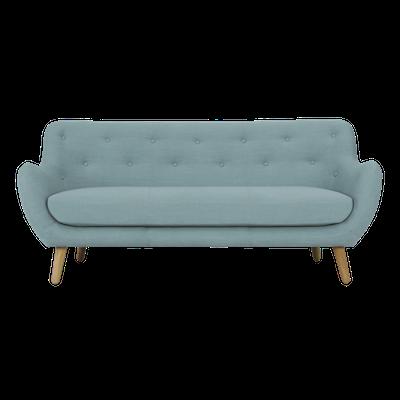 Kalista 3 Seater Sofa - Aquamarine - Image 2