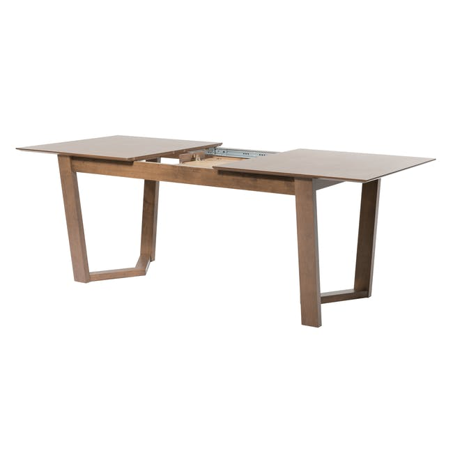 Meera Extendable Dining Table 1.6m - Cocoa - 2