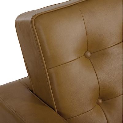 Florence Knoll Loveseat - Italian Leather - Image 2