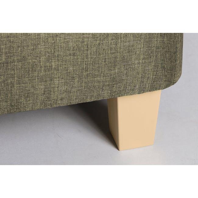 ESSENTIALS Single Divan Bed - Khaki (Fabric) - 4