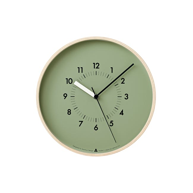 SOSO Clock - Green - 0