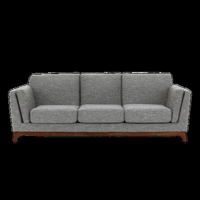 Elijah 3 Seater Sofa - Cocoa, Pebble - Image 1