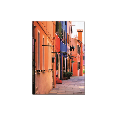 Colourful Street Printed Picture Set - Image 2