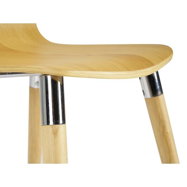 JazzDining Chair - Oak - 8