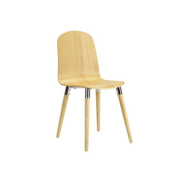 JazzDining Chair - Oak - 0