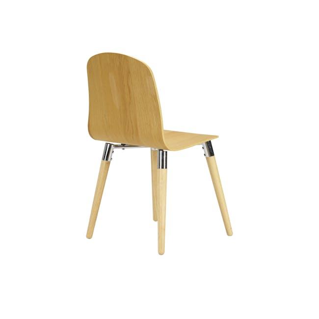 JazzDining Chair - Oak - 4