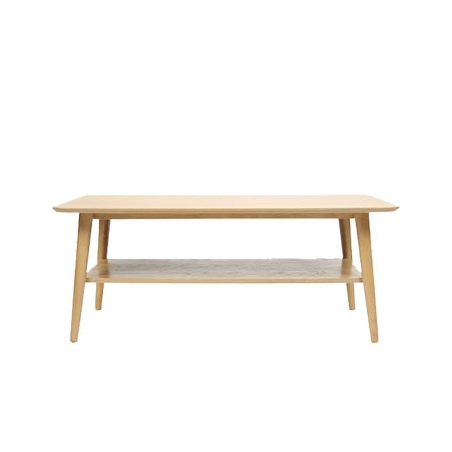 Blythe Coffee Table - Oak - 7