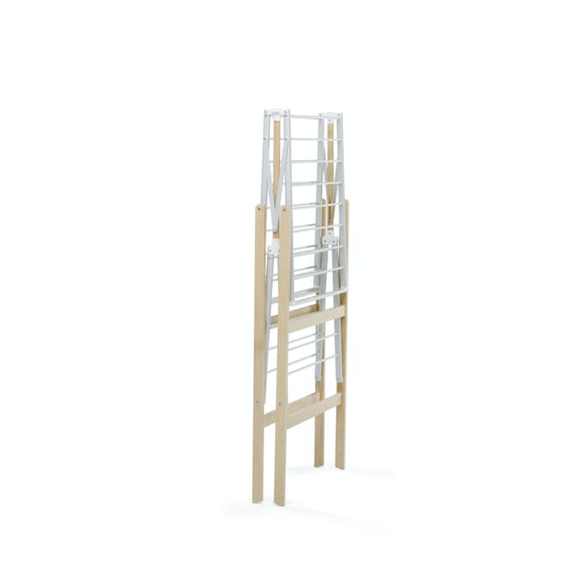 Foppapedretti Ciak Foldable Wooden Clothes Airer - 1