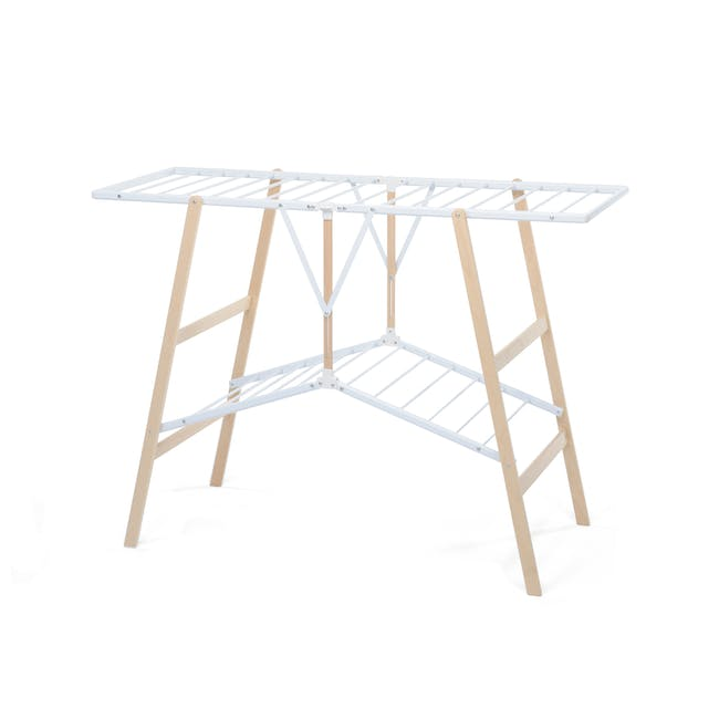 Foppapedretti Ciak Foldable Wooden Clothes Airer - 0