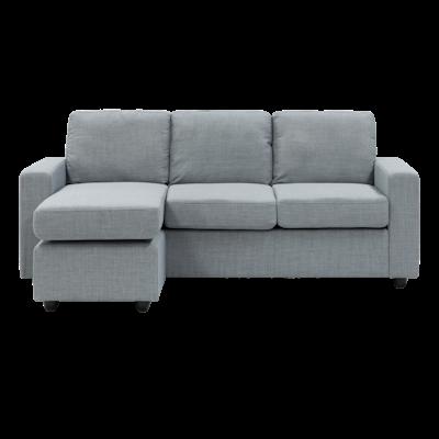Hank L Shape Sofa - Slate - Image 1