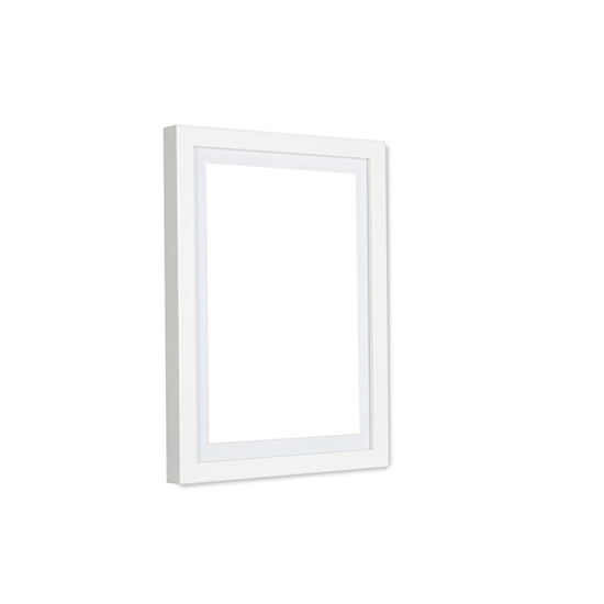 A4 Size Wooden Frame - White - Image 1