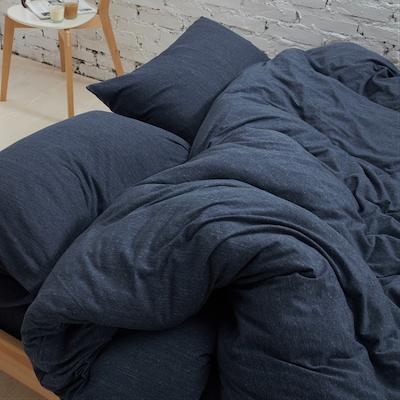 (King) Cotton Pure 6-pc Bedding Set - Prussian Blue - Image 2