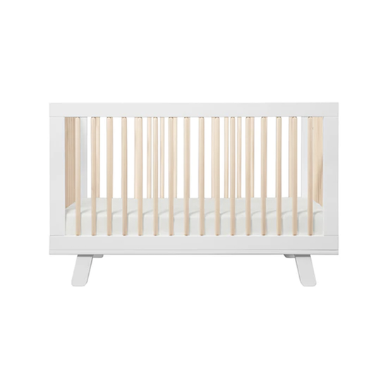 Hatchery Cribs - Babyletto Hudson 3-in-1 Convertible Crib - White & Washed