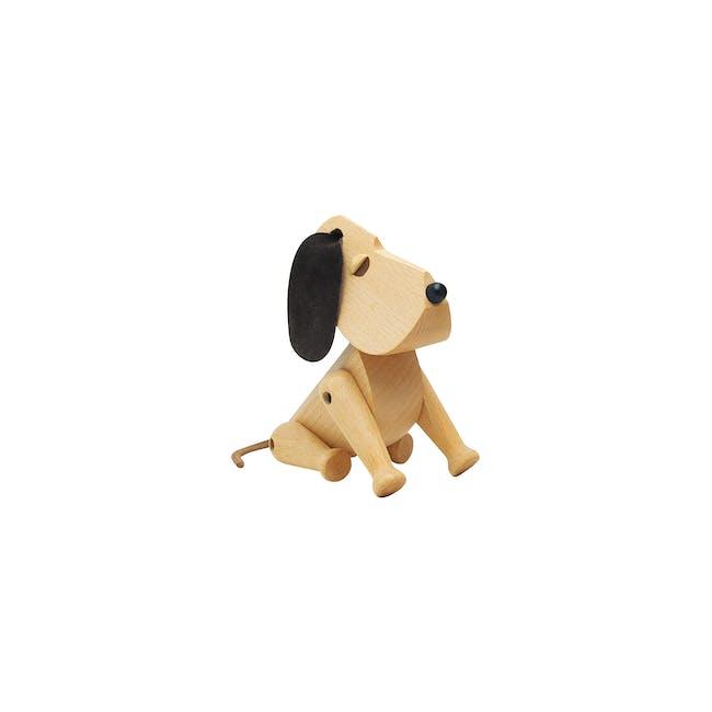 Craig the Dog - Beech Wood Sculpture (Small) - 0