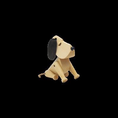 Craig the Dog - Beech Wood Sculpture (Small) - Image 2