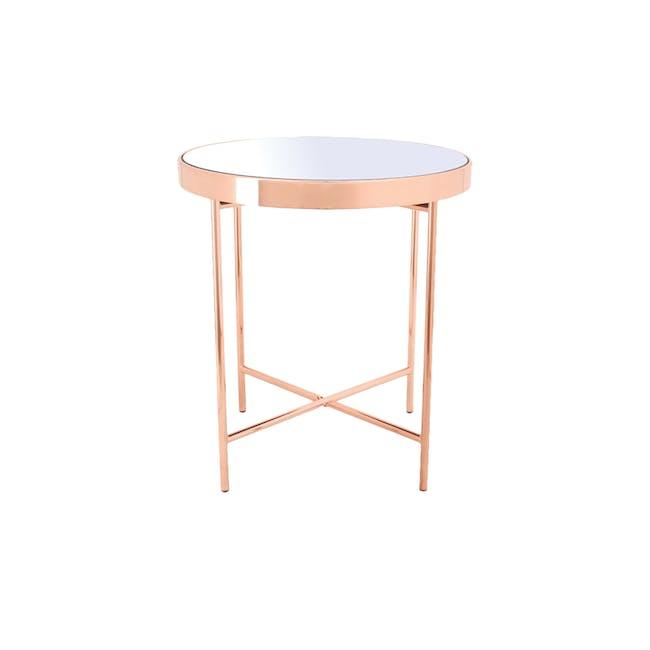 Xander Mirror Side Table - 1