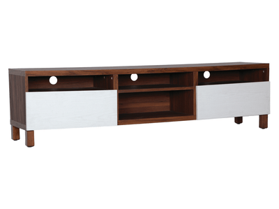 (As-is) Gordon Large TV Cabinet - Walnut - 1 - Image 2