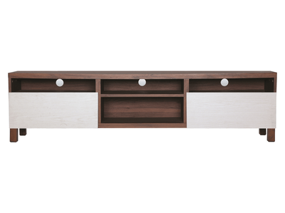 (As-is) Gordon Large TV Cabinet - Walnut - 1 - Image 1