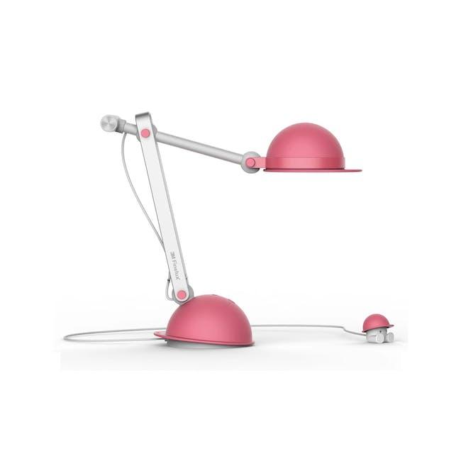 3M Polarizing Task Light with Timer LED K1710 - Pink - 0