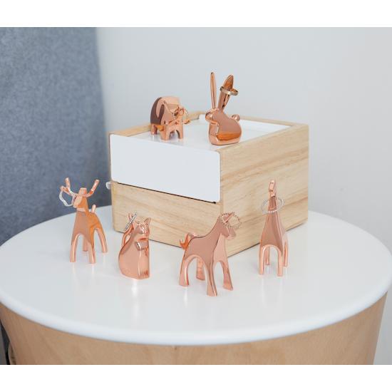 Umbra - Anigram Bunny Ring Holder - Copper