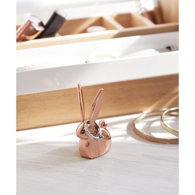Anigram Bunny Ring Holder - Copper - 8