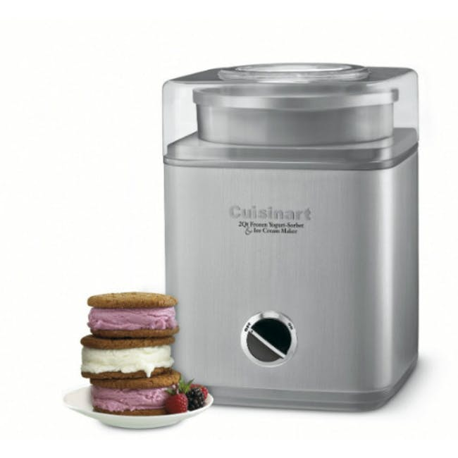 Cuisinart Indulgence 2-quartz Frozen Yogurt - Sorbet & Ice Cream Maker - 2