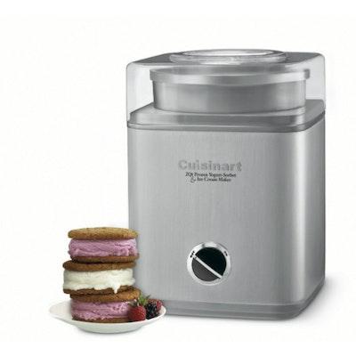 Cuisinart Indulgence 2-quartz Frozen Yogurt - Sorbet & Ice Cream Maker