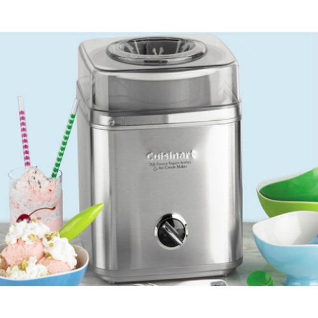 Cuisinart Indulgence 2-quartz Frozen Yogurt - Sorbet & Ice Cream Maker - 3