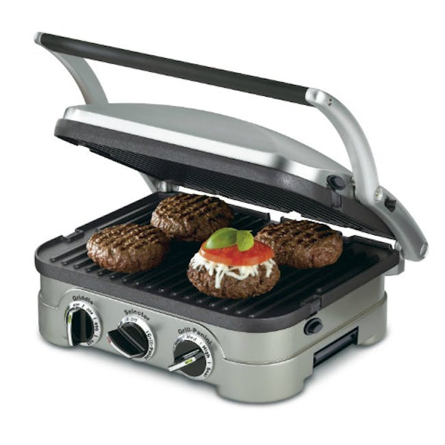 Cuisinart Griddler with Non-Stick Plate - 3
