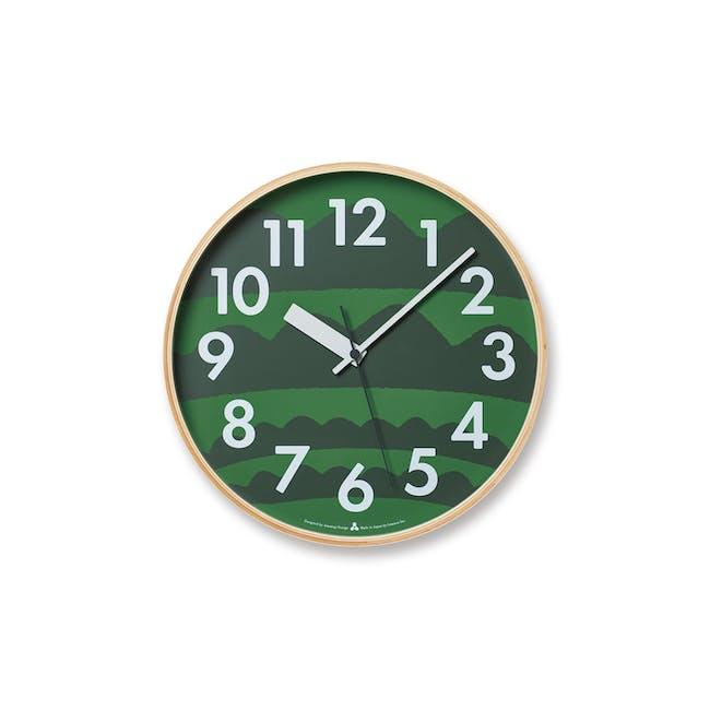 Noyama Clock - Green - 0