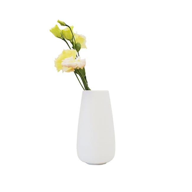 Nordic Matte Vase Tall Cylinder - White - 0