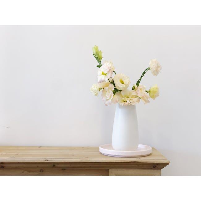 Nordic Matte Vase Tall Cylinder - White - 1