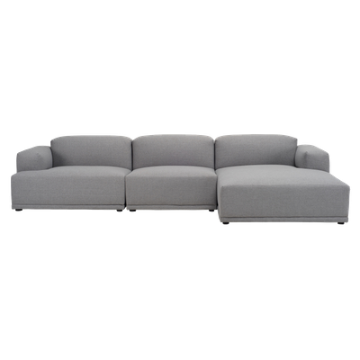 Flex 4 Seater L Shape Sofa with Saarinen Womb Chair with Ottoman - Image 2