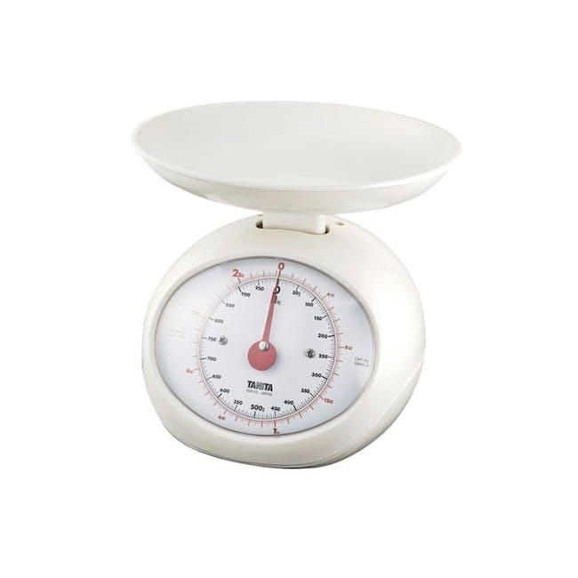 Tanita Mechanical Kitchen Scale 2.25kg - White - 0