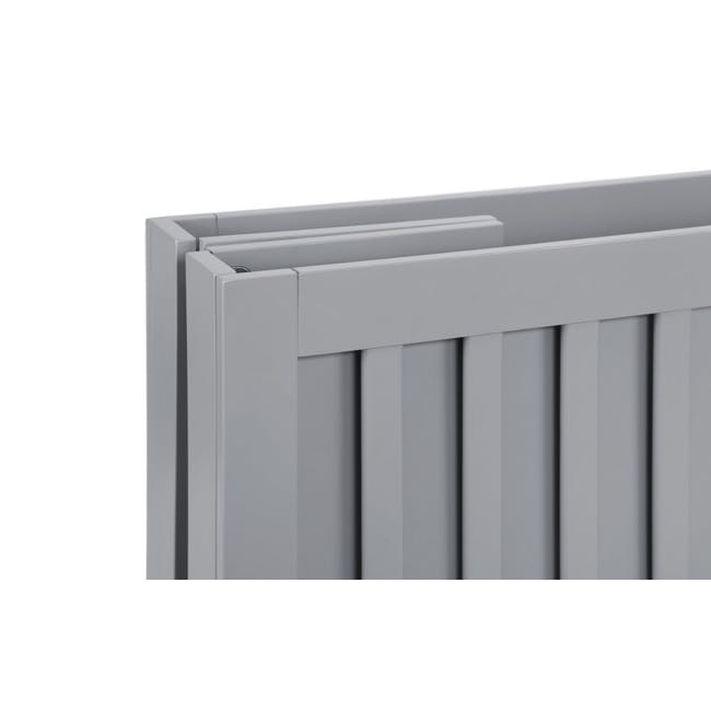 Babyletto Maki Foldable 2-in-1 Folding Crib - Grey - 7